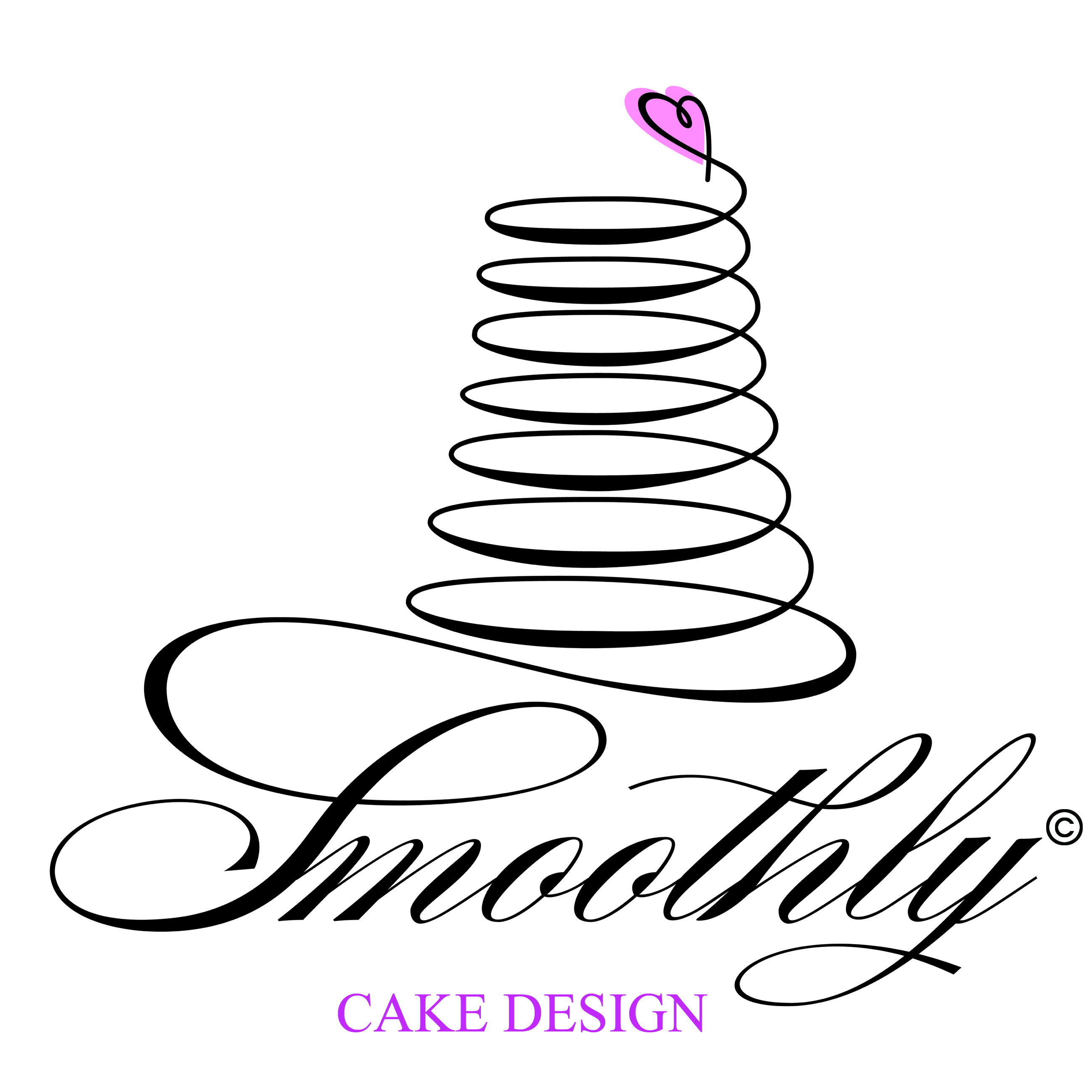 smoothly cake design - The HandartThe Handart